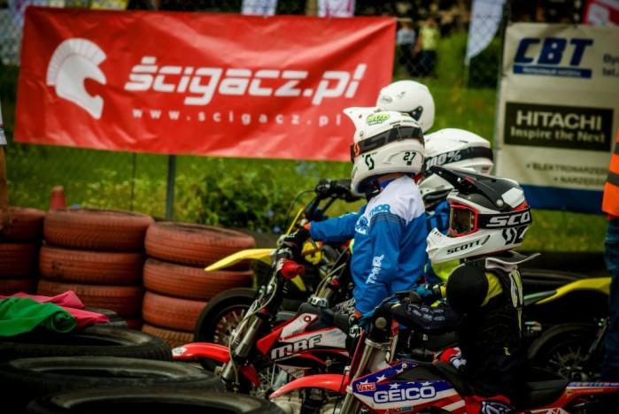 IV runda zawod lw supermoto Pit Bike 2017 13