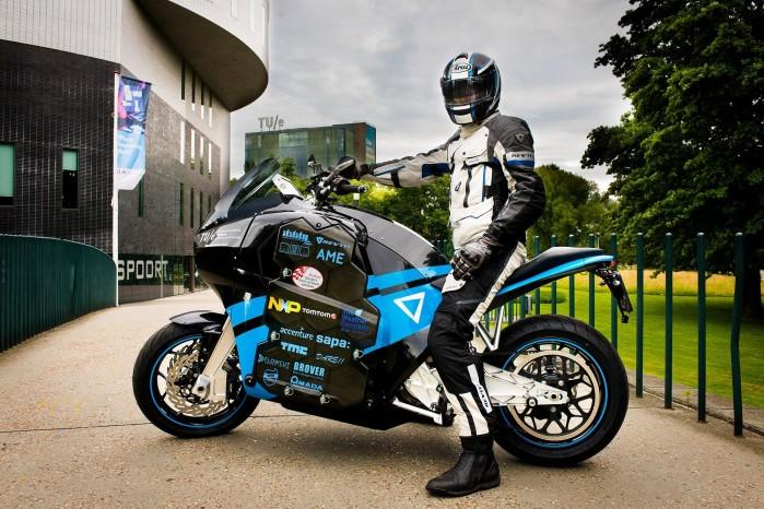 elektryczny motocykl dookola swiata