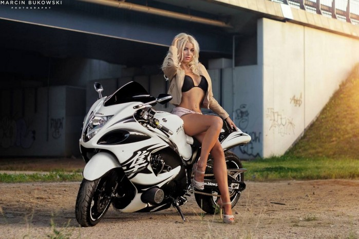motocykl kobieta