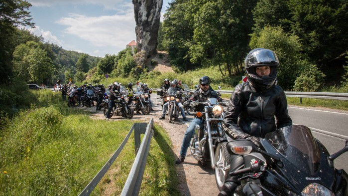 XIV Zlot Vetriders wterynarze na motocyklach 10