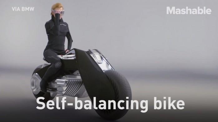 Motocykl przyszlosci BMW