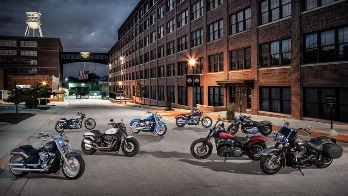 Nowe motocykle Softail