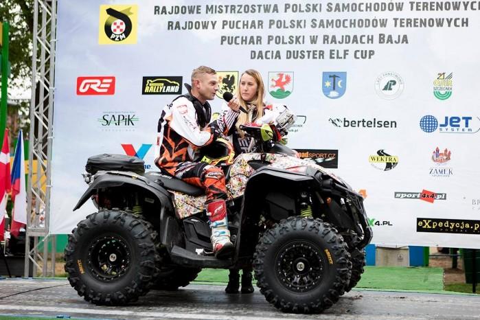 Baja Szczecinek 2017 Kingsquad Lindner Bros Radek Lindner rampa