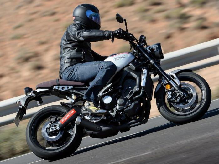 Zakret Nowa Yamaha XSR900 Scigacz