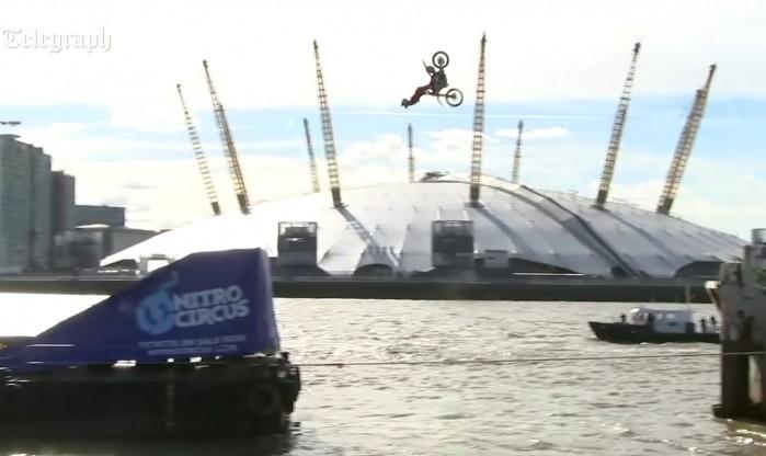 Travis Pastrana FMX Londyn