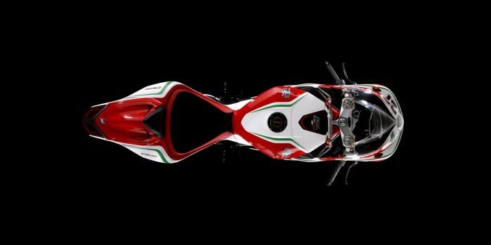 MV Agusta F4 RC 2018 z gory