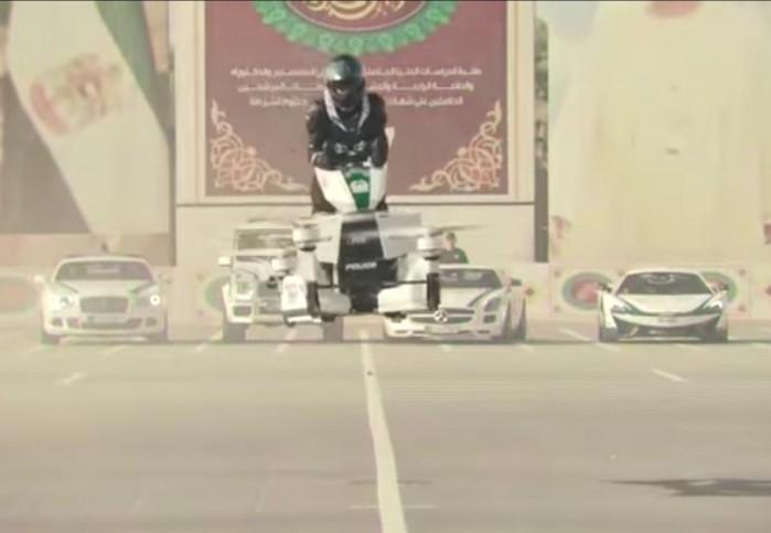 Dron policja Dubaj