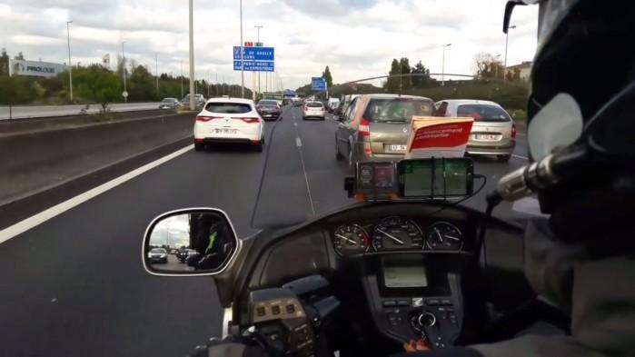 Honda Gold Wing jako miejska taksowka