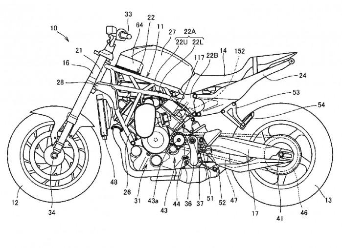 Honda power naked turbo