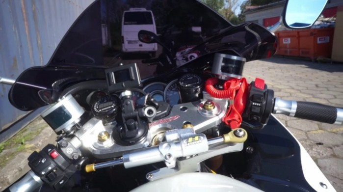 Suzuki Hayabusa Turbo zegary