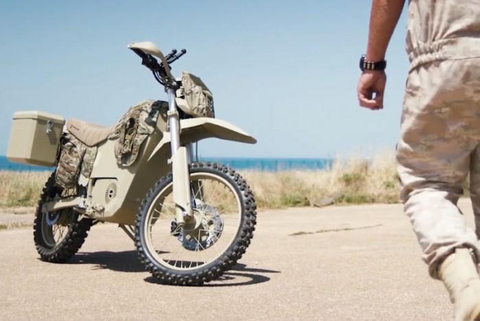 Elektryczny motocykl Kalasznikowa Wojsko