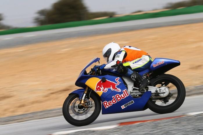 Daniel Blin Red Bull MotoGP Rookies Cup
