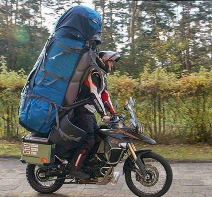 po co kufry wystarczy plecak