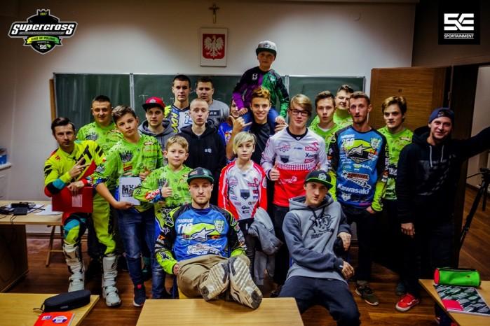 Superszkola przed Mistrzostwami Europy Supercross w Gdansku 1