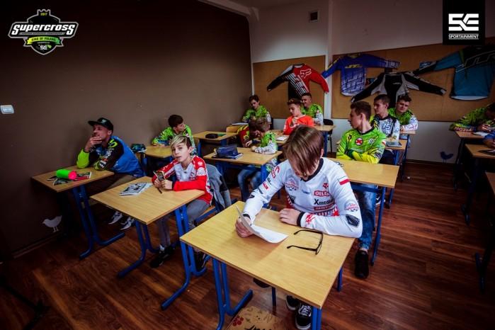 Superszkola przed Mistrzostwami Europy Supercross w Gdansku 3