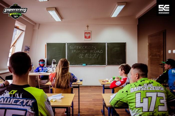 Superszkola przed Mistrzostwami Europy Supercross w Gdansku 4