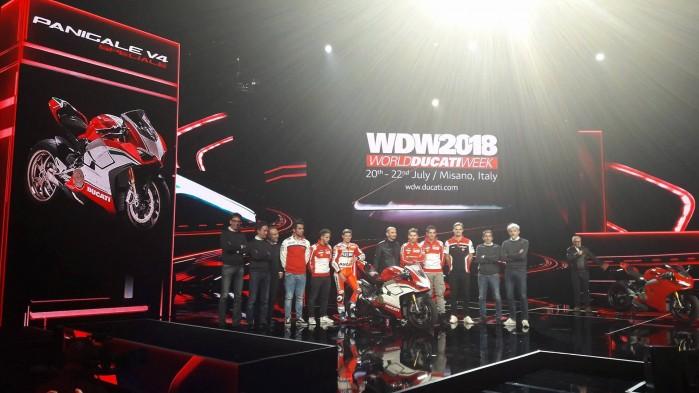 Ducati Panigale V4 prezentacja