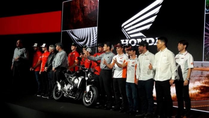 Honda Team i nowa CB1000R 2018