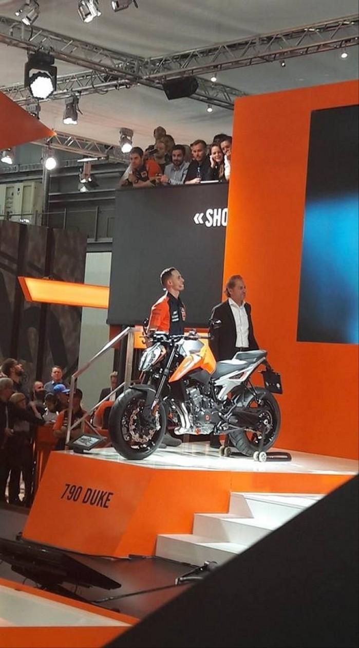 KTM 790 Duke 2018 EICMA prezentacja