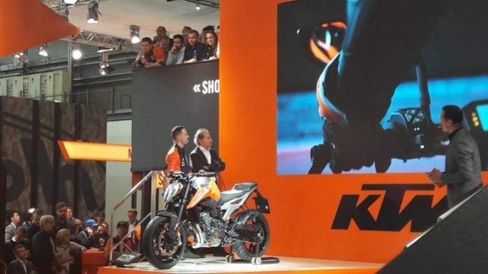 prezentacja KTM 790 Duke 2018 EICMA