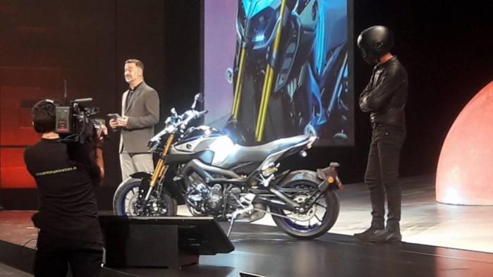 Yamaha MT09 w wersji SP
