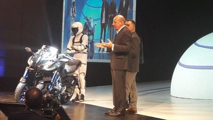 Yamaha Niken prezentacja