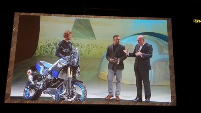 Yamaha Tenere 700 koncept prezentacja