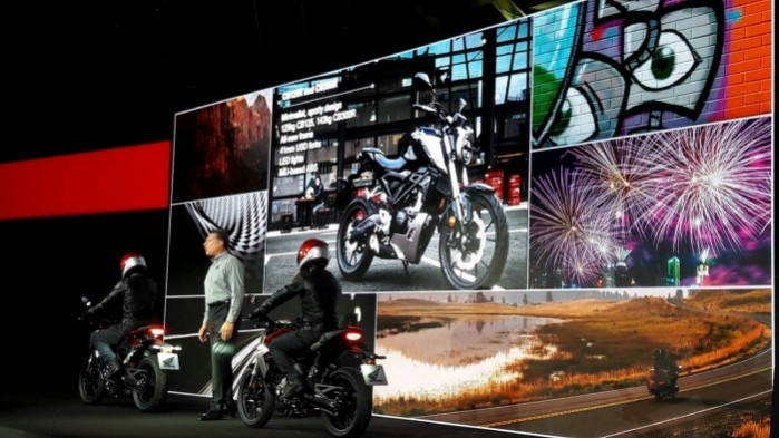 Honda Cb125R i Cb300R 2018 prezentacja