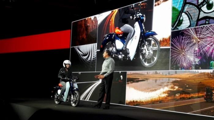 Honda Super Cub 125 koncept prezentacja