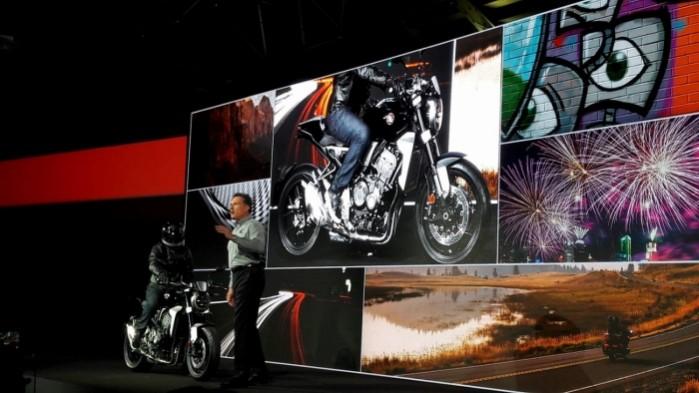 Honda cb1000R 2018 prezentacja
