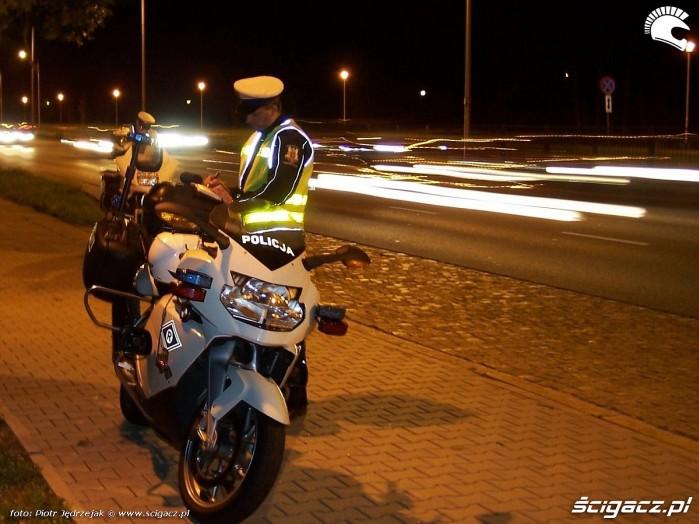 kontrole drogowe na BMW K1200S