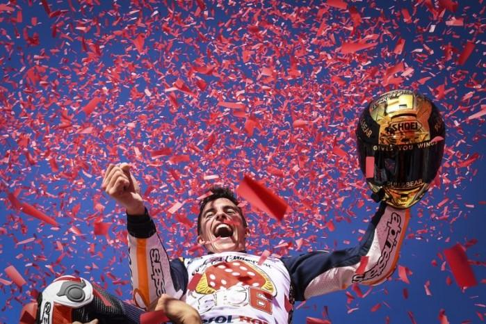 Marquez Mistrz MotoGP 2017