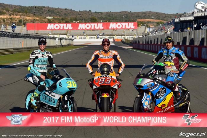 MotoGP 2017 Mistrzowie Swiata World Champion 4