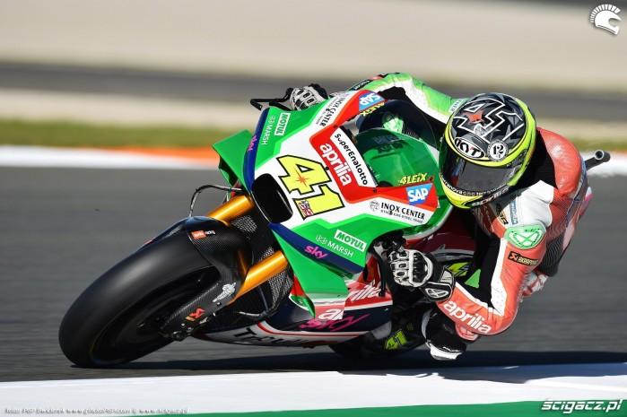 MotoGP Walencja 2017 41 Aleix Espargaro Aprilia Gresini 12
