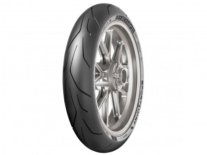 Dunlop SportSmart TT zadebiutuje jako nowy produkt na rynku opon na tor i droge przod