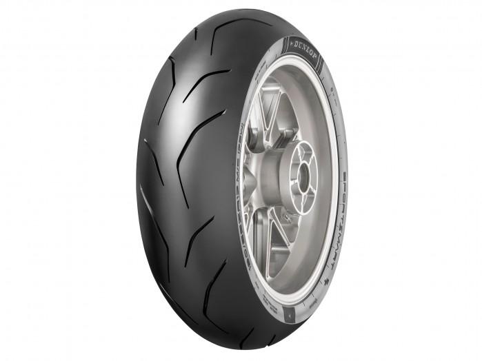 Dunlop SportSmart TT zadebiutuje jako nowy produkt na rynku opon na tor i droge tyl