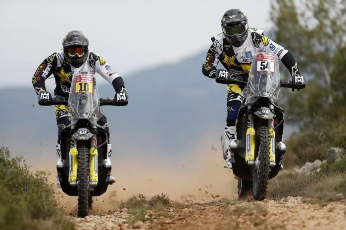 Rockstar Energy Husqvarna Factory Racing Line Up for Dakar Rally 2018