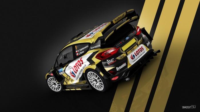 Ford Fiesta WRC Rajd Barborka 2017