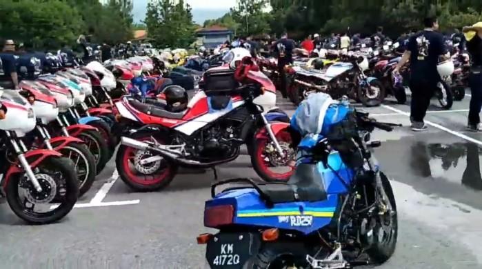 zlot motocykli 2t dwusuwowych