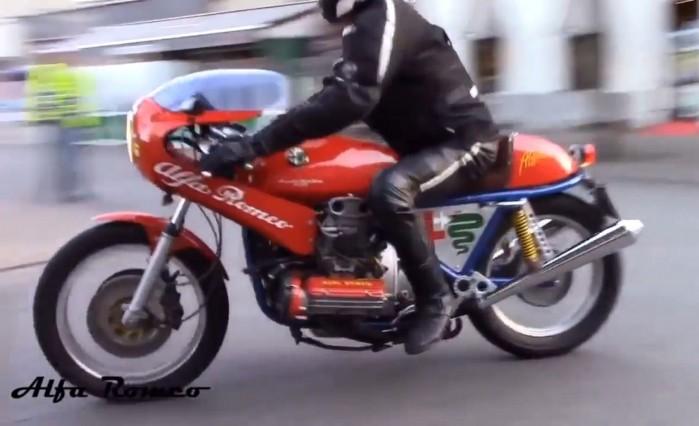 Motocykl Alfa Romeo