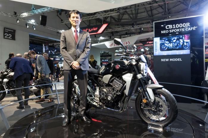 Soya Uchida Honda CB1000R