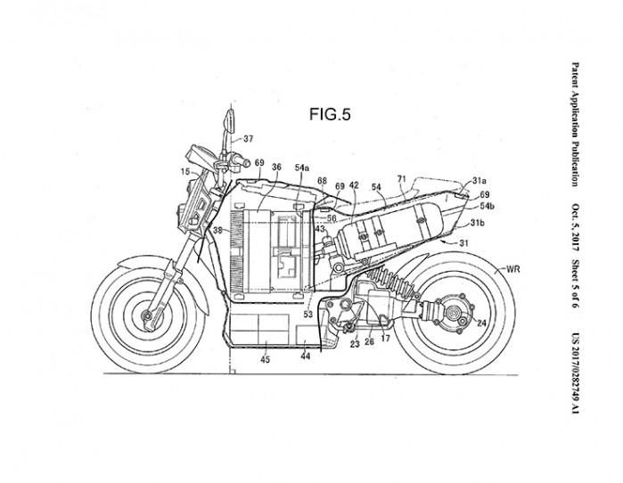Honda Fuel Cell bike 10