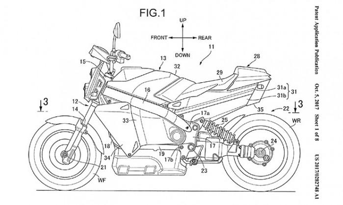 THUMB Honda Fuel Cell bike 1