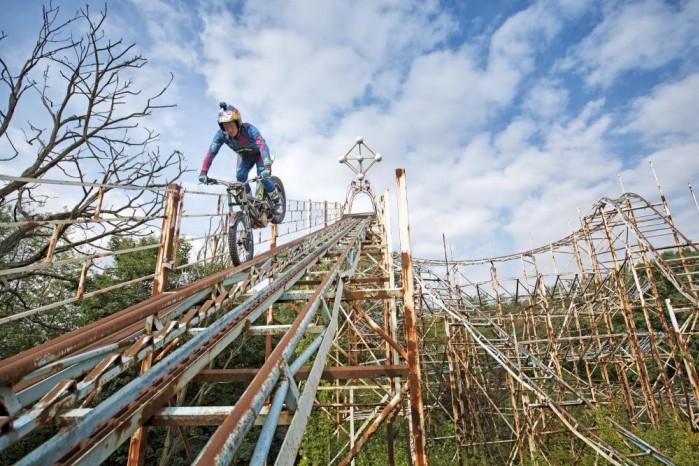 dougie lampkin roller coaster