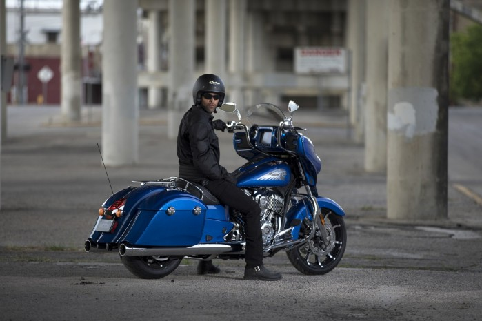 Indian Chieftain 2018 Blue