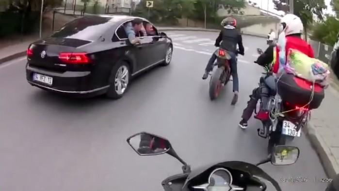 Motocyklisci kontra turecka mafia