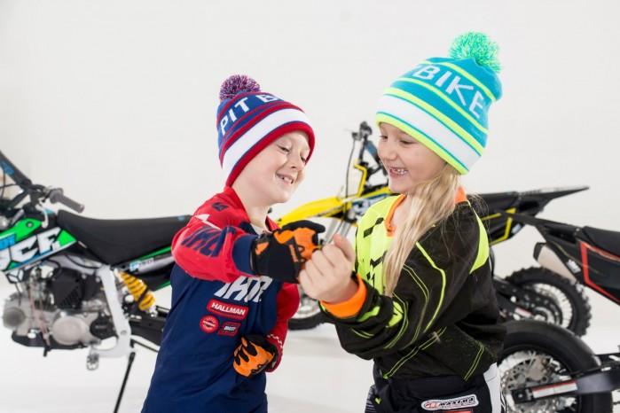 dzieci pit bike