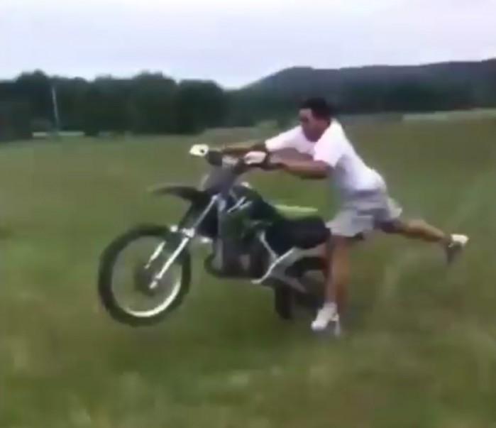 motocykl go porwal