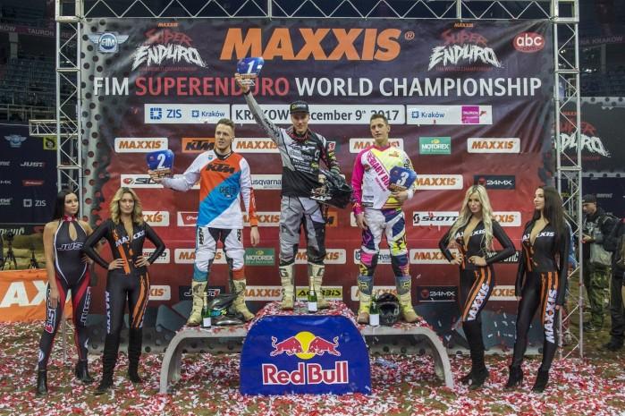 Ms FIM SuperEnduro w Krakowie podium Puchar Europy