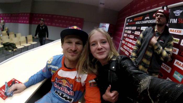 Mistrzostwa swiata Super Enduro 2017 Krakow Ewelina i Taddy